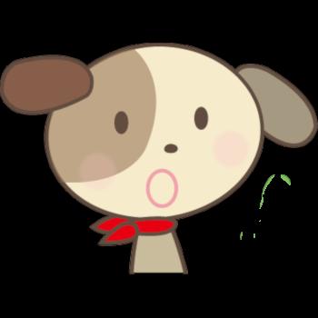 イヌくん(びっくり)